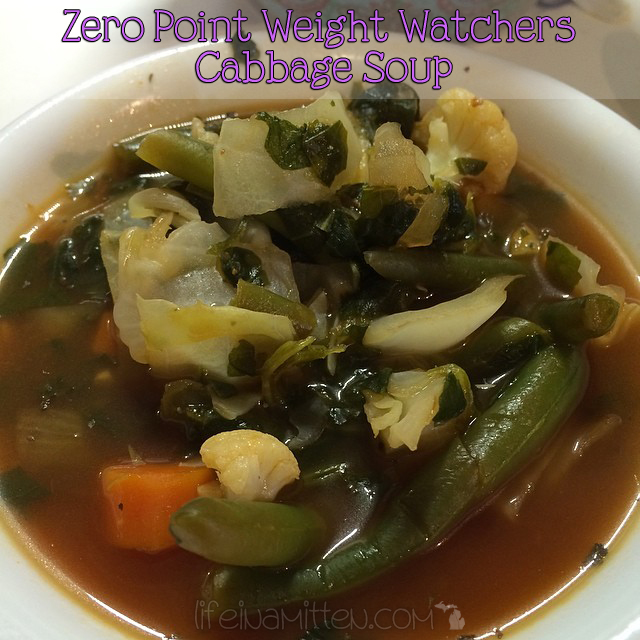 Zero Point WW Cabbage Soup